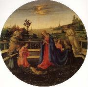 Filippino Lippi Adoration of the Christ Child oil painting picture wholesale