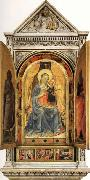 Fra Angelico The Linaioli Tabernacle oil painting artist
