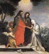 Francesco Vanni The Mystic Marriage of St.Catherine of Siena oil painting picture wholesale