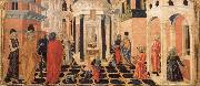 Francesco di Giorgio Martini Three Stories from the Life of St.Benedict oil painting
