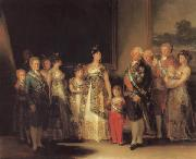 Francisco de goya y Lucientes The Family of Charles IV oil painting reproduction
