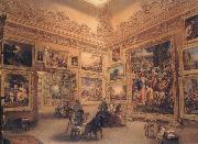 Frederick Mackenzie The National Gallery when at Mr J.J Angerstein's House,Pall Mall oil painting