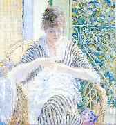 Frieseke, Frederick Carl On the Balcony oil painting picture wholesale