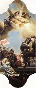 Giovanni Battista Tiepolo Erection of a Statue to an Emperor oil painting picture wholesale