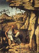 Giovanni Bellini St.Jerome in the Desert oil painting artist