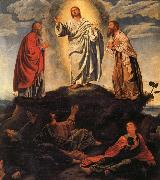 Giovanni Gerolamo Savoldo The Transfiguration oil painting artist