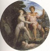 Girolamo Macchietti Venus and Adonis oil painting reproduction
