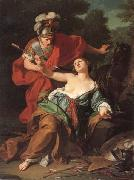 Giuseppe Bottani Armida's Attempt to Kill Herself oil painting picture wholesale