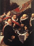 Banquet of the Officers of the St George Civic Guard (detail)