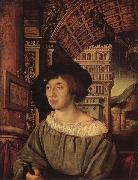 HOLBEIN, Ambrosius Portrait of a Gentleman oil painting