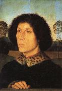 Portrait of a Man in a Landscap