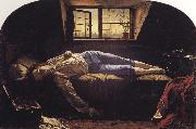 Henry Wallis Chatterton oil painting