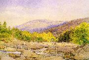 Hill, John William View on Catskill Creek oil painting