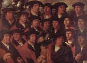 JACOBSZ, Dirck Group Portrait of the Arquebusiers of Amsterdam oil painting