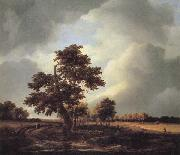 Jacob van Ruisdael Landscape with Shepherds and Peasants