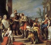 Jacopo Amigoni Joseph in Pharaob's Palace oil painting picture wholesale