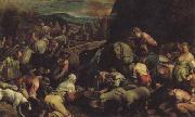 Jacopo Bassano The Israelites Drinkintg the Miraculous Water oil painting picture wholesale
