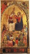 Jacopo Di Cione The Coronation of the Virgin wiht Prophets and Saints oil painting picture wholesale
