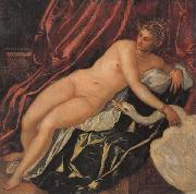 Jacopo Tintoretto Leda and the Swan oil painting