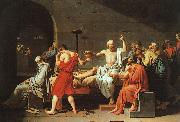 Jacques-Louis David The Death of Socrates oil painting