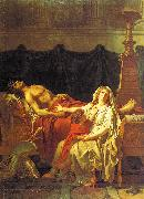 Jacques-Louis David Andromache Mourning Hector oil painting