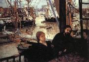 James Abbott McNeil Whistler Wapping oil painting picture wholesale