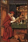 Jan Van Eyck Hl.Hieronymus oil painting picture wholesale