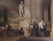 Jan Weenix The Departure of the prodigal son oil painting
