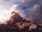 Jean Honore Fragonard The Storm oil painting reproduction
