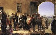 Jerry Barrett The Mission of Merey:Florence Nightingale Receiving the Wounded at Scutari oil painting