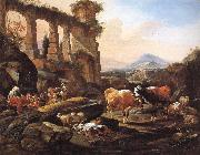 Landscape with Shepherds and Animals