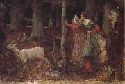 John William Waterhouse The Mystic Wood oil painting picture wholesale