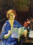 Jones, Francis Coates Woman Reading oil painting picture wholesale