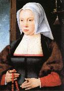 Joos van cleve Portrait of a Woman oil painting reproduction