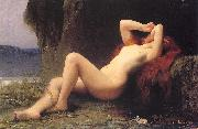 Lefebvre, Jules Joseph Mary Magdalen in the Grotto oil painting