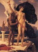 Lord Frederic Leighton Daedalus and Icarus oil painting reproduction
