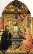 Lorenzo Monaco Pieta of Christ with Mourners and the Symbols of the Passion oil painting