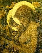 Louis Welden Hawkins The Haloes oil painting
