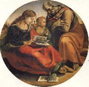Luca Signorelli The Holy Family oil painting picture wholesale