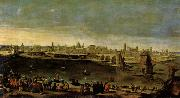 Maino, Juan Bautista del View of the City of Zaragoza oil painting