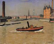 Marquet, Albert The Port of Hamburg oil painting