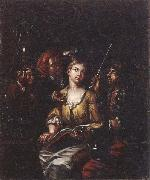 Matthys Naiveu The procuress oil painting
