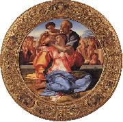Michelangelo Buonarroti The Holy Family with the Young St.John the Baptist oil painting picture wholesale