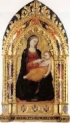 Niccolo di Pietro Gerini Madonna and Child oil painting reproduction