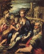 PARMIGIANINO Madonna of St.Zachary oil painting picture wholesale