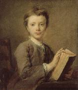 PERRONNEAU, Jean-Baptiste A Boy with a Book