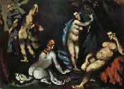 Paul Cezanne The Temptation of St.Anthony oil painting reproduction