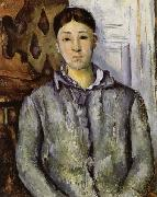 Madame Cezanne in Blue