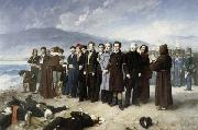 Perez, Antonio Gisbert The Execution of Torrijos and His Companions oil painting picture wholesale