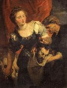 Peter Paul Rubens Judith with the Head of Holofernes oil painting reproduction